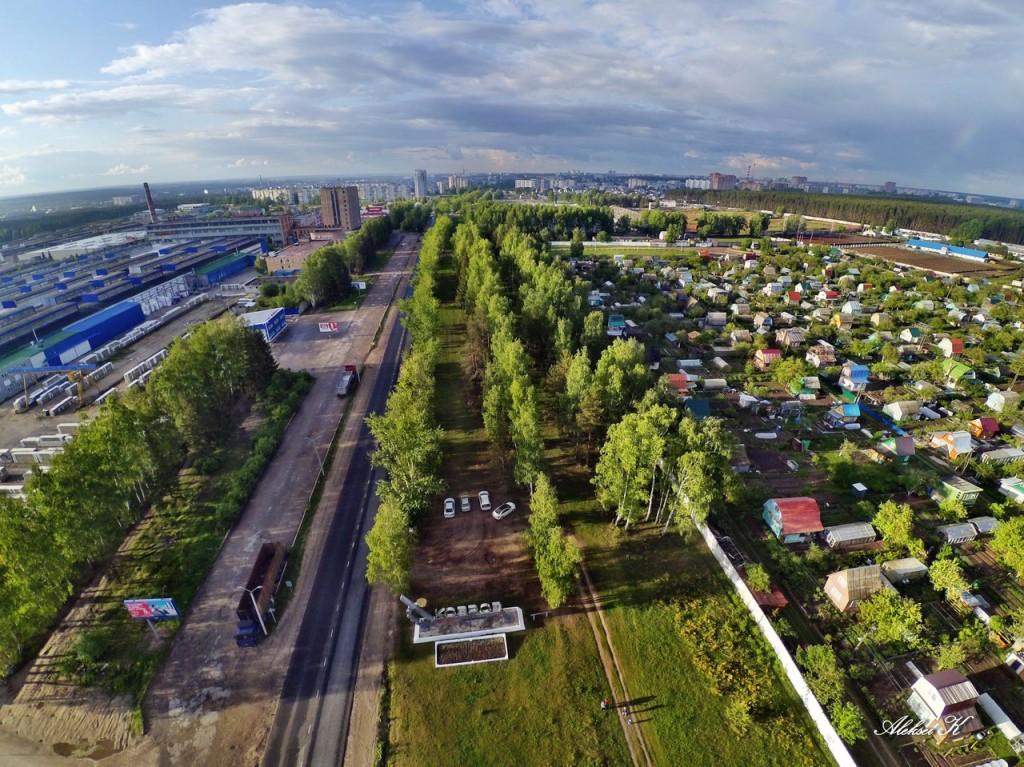 Город Ковров с высоты 02