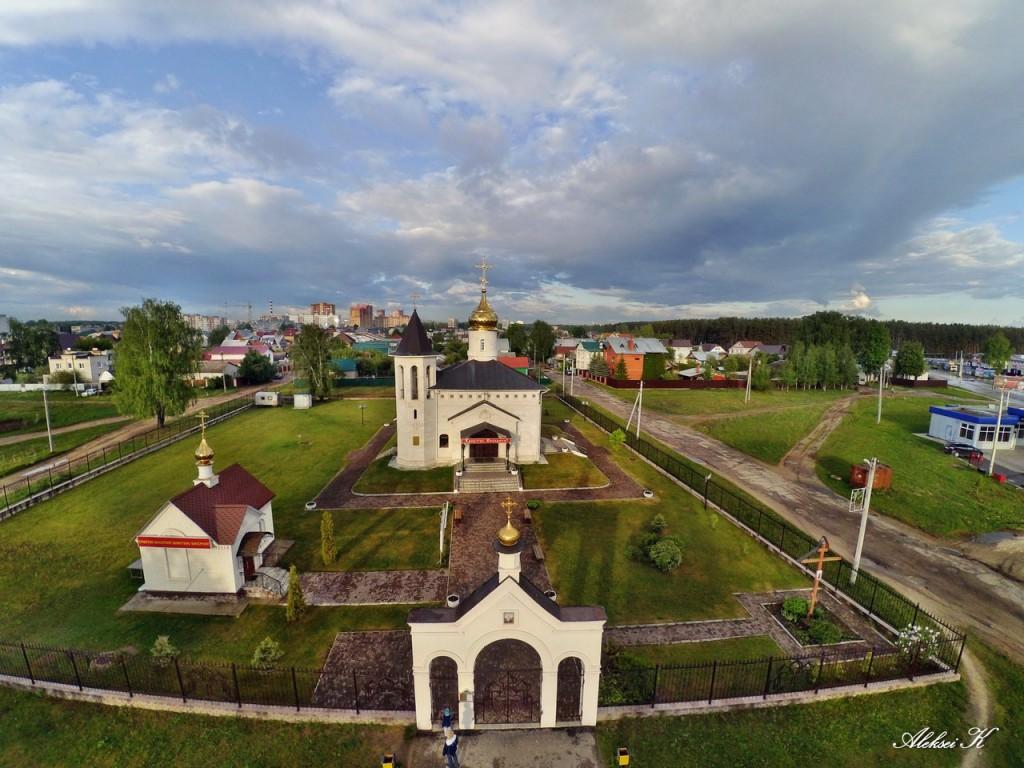 Город Ковров с высоты 04