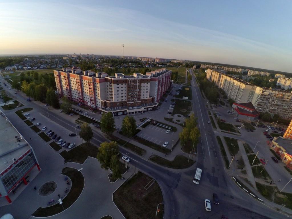 Город Ковров с высоты 10