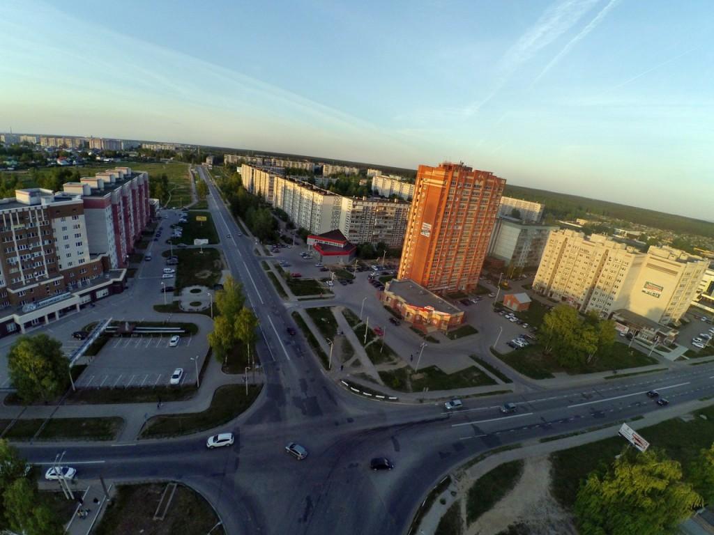 Город Ковров с высоты 11