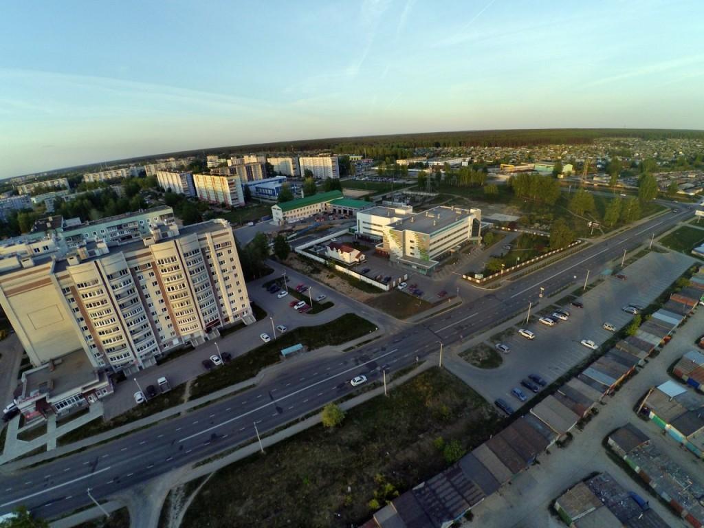 Город Ковров с высоты 12