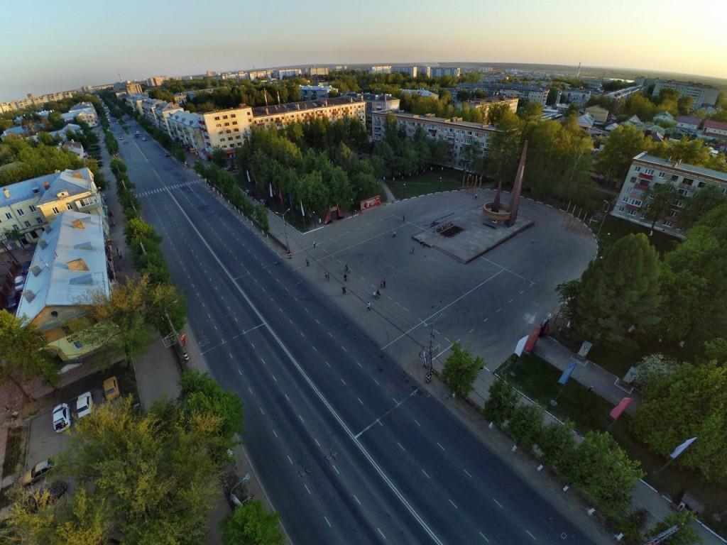 Город Ковров с высоты 13