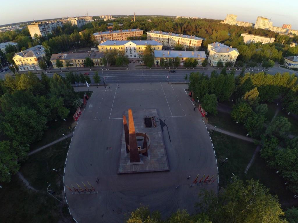 Город Ковров с высоты 14