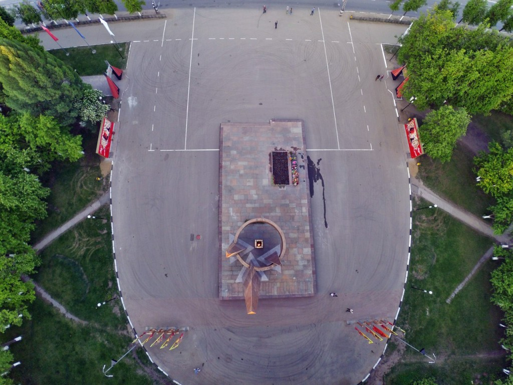 Город Ковров с высоты 15