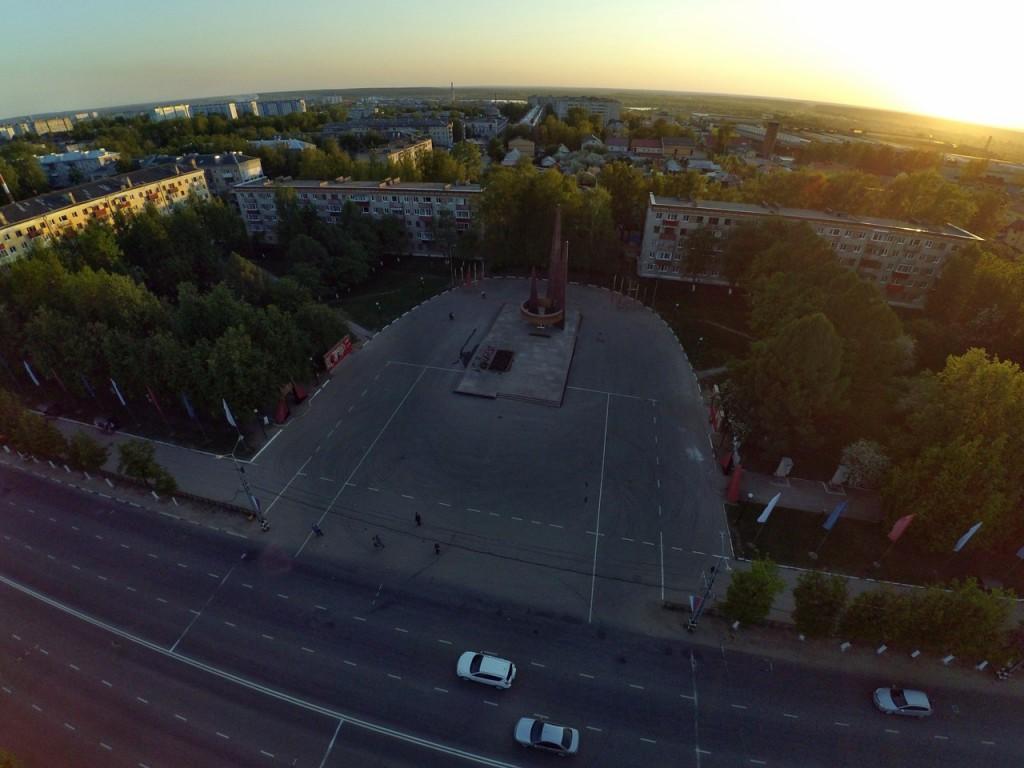 Город Ковров с высоты 16