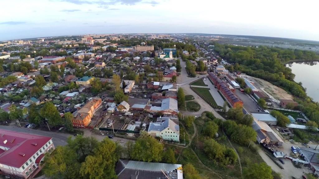 Город Ковров с высоты 17