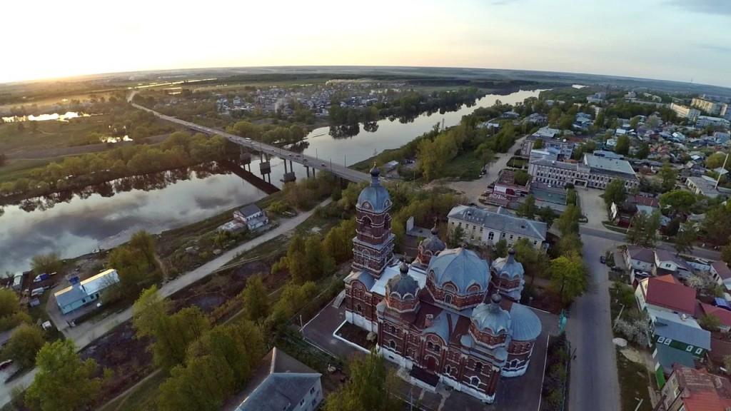 Город Ковров с высоты 18