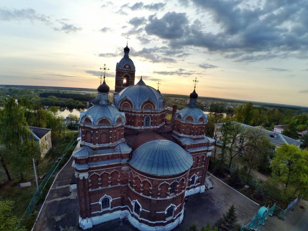 Город Ковров с высоты 22