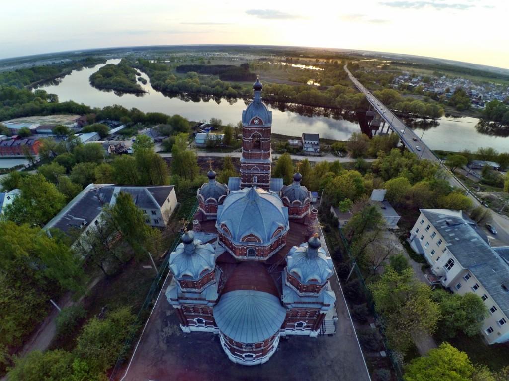 Город Ковров с высоты 23