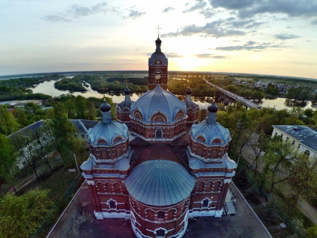 Город Ковров с высоты 24