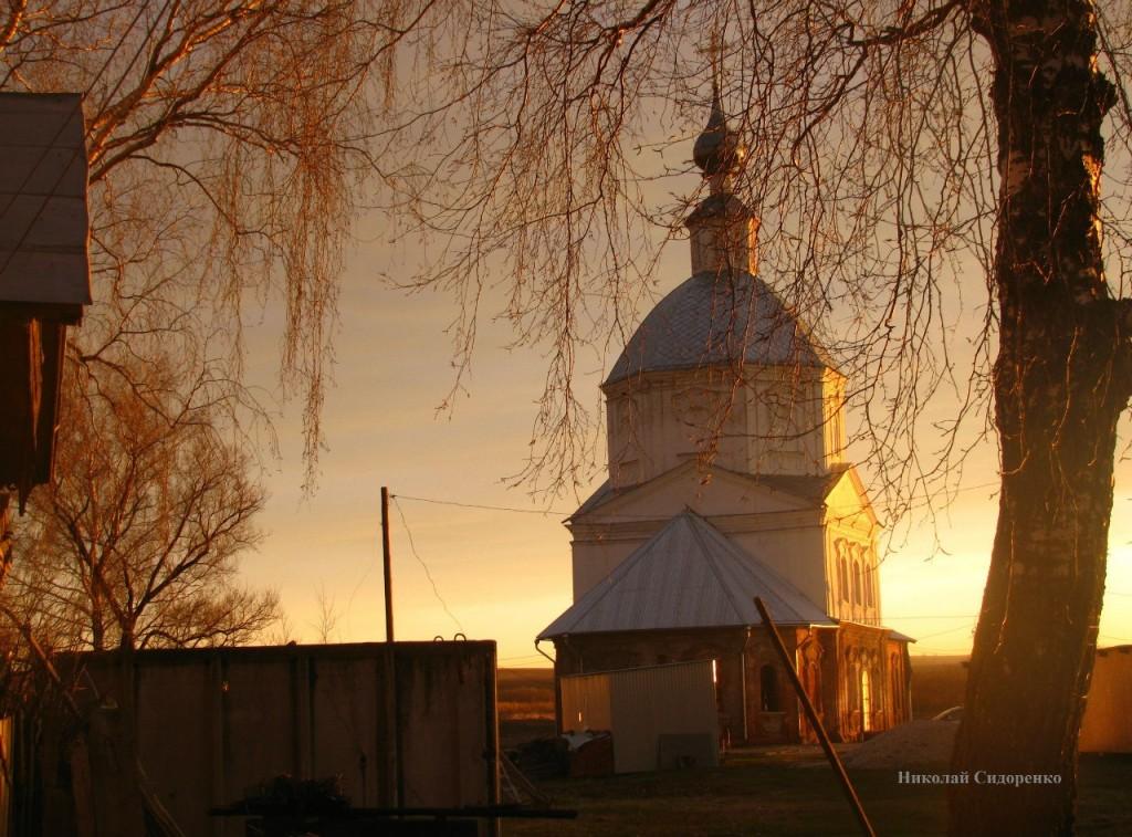 Закат в с. Кистыш, Суздальский р-он 01