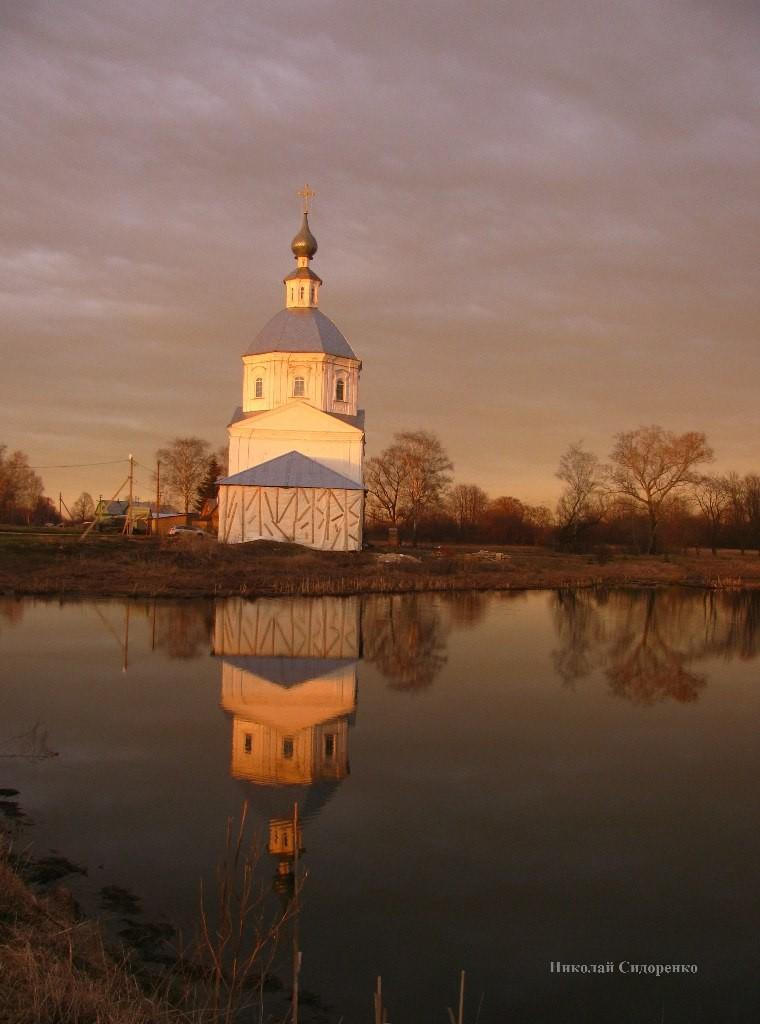 Закат в с. Кистыш, Суздальский р-он 02