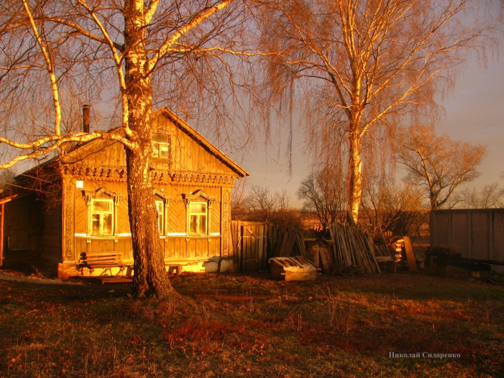 Закат в с. Кистыш, Суздальский р-он 03
