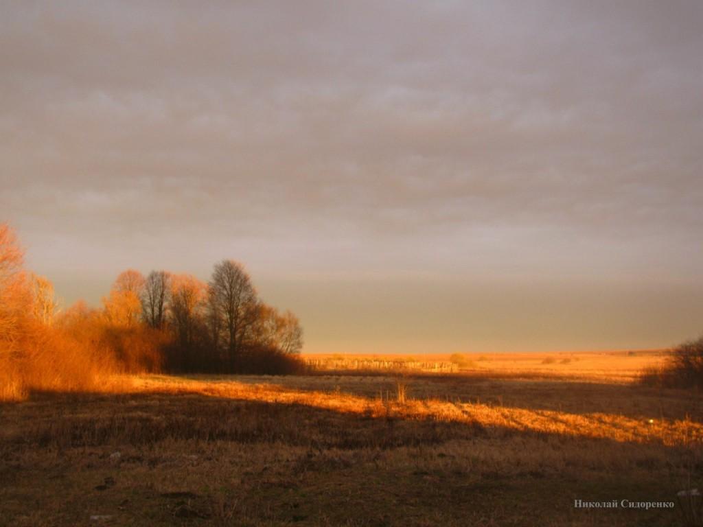 Закат в с. Кистыш, Суздальский р-он 04