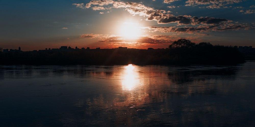 Закат над Клязьмой 29042016