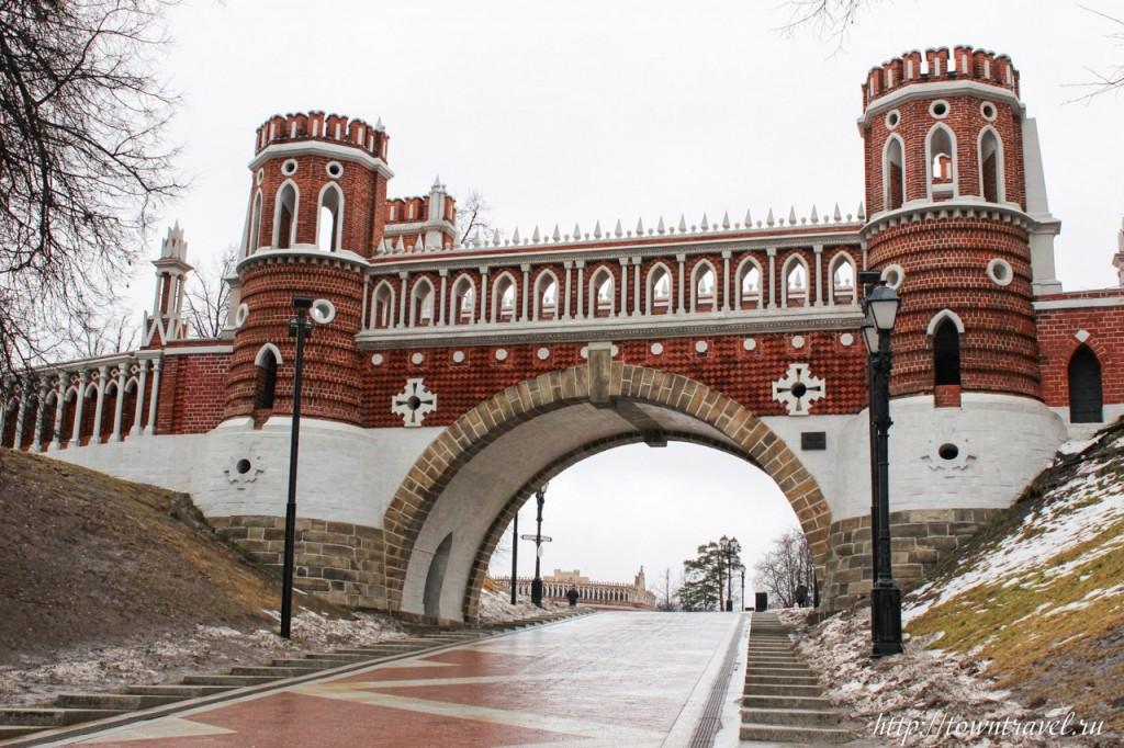 Идея для поездки выходного дня Царицыно, Москва 05
