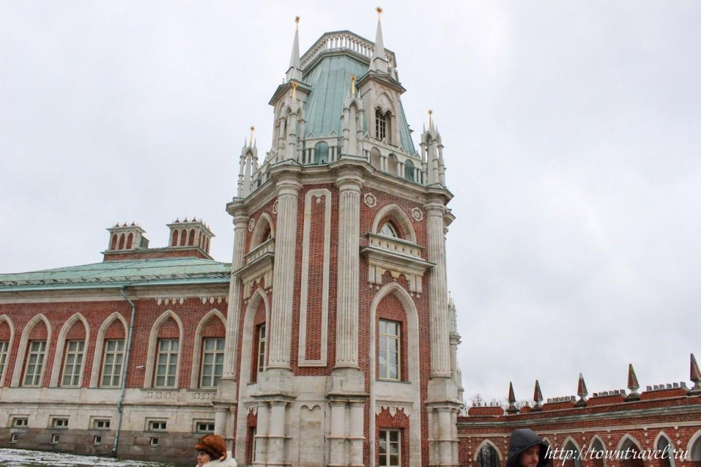 Идея для поездки выходного дня Царицыно, Москва 08