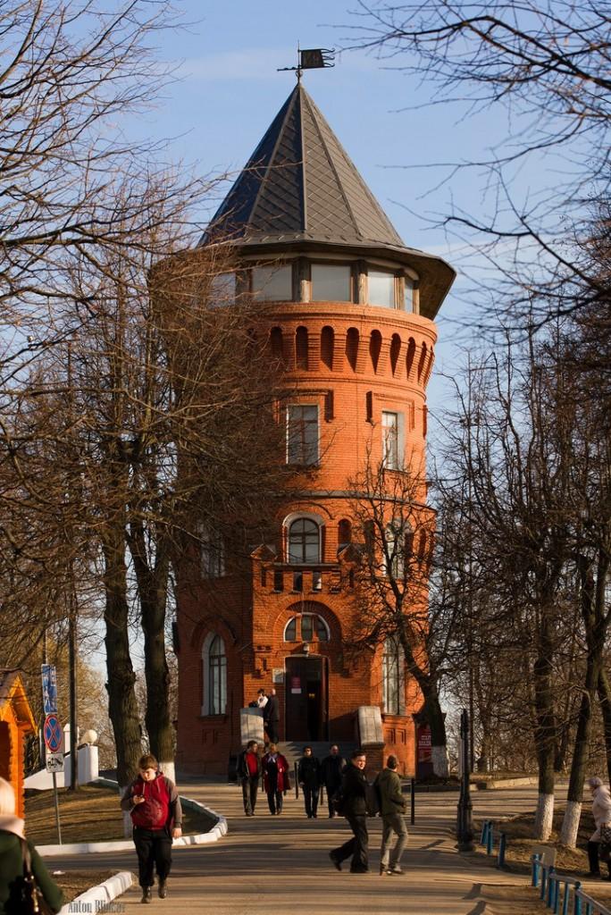Идея для экскурсии Водонапорная башня, Владимир 01