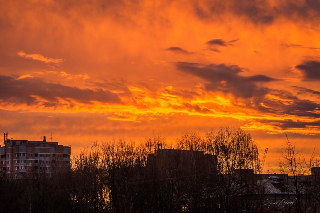 Красивые Владимирские закаты 03