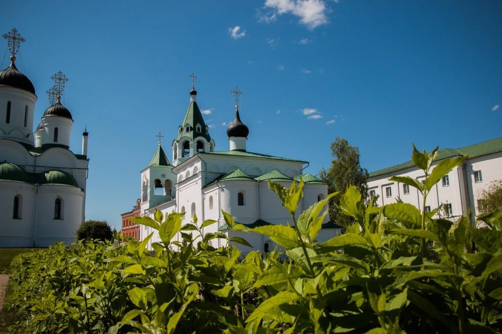 Май в Муроме. Спасо-Преображенский монастырь 05