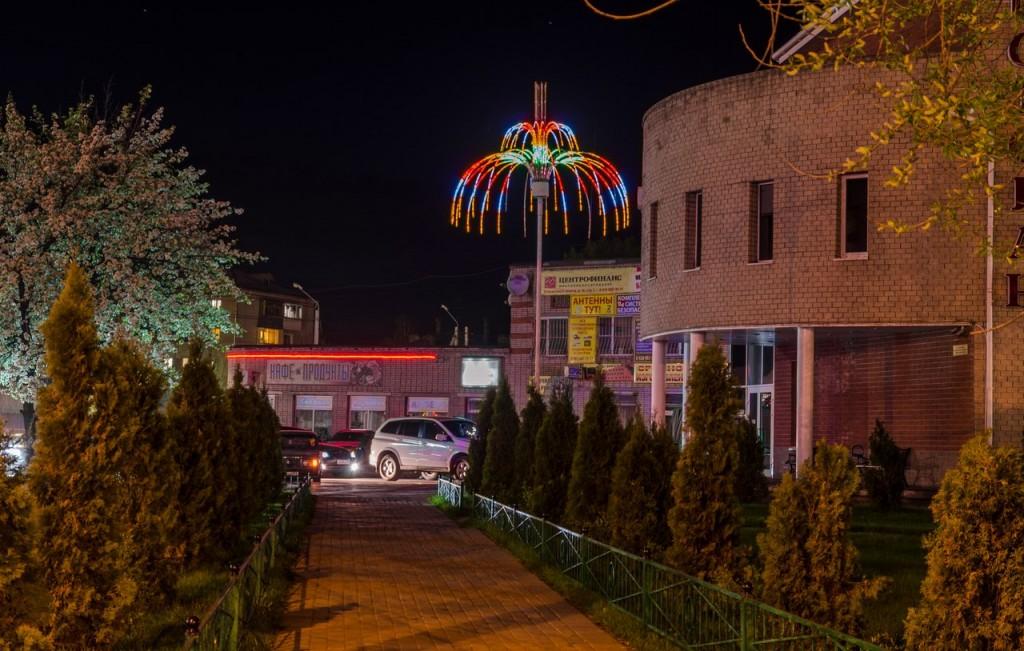 Немножко ночного, тихого, провинциального городка Покров 03