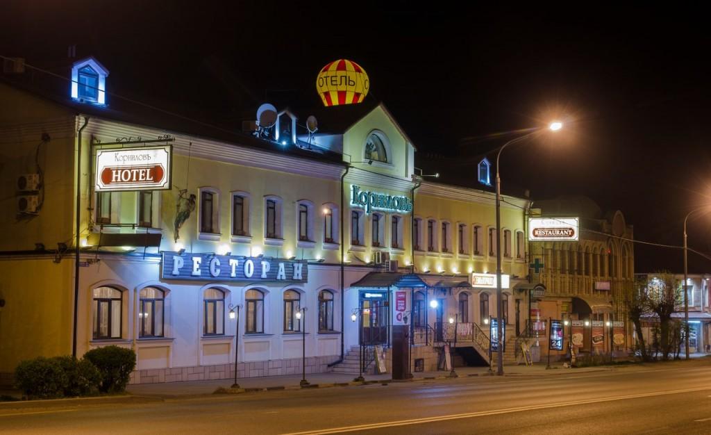 Немножко ночного, тихого, провинциального городка Покров 06