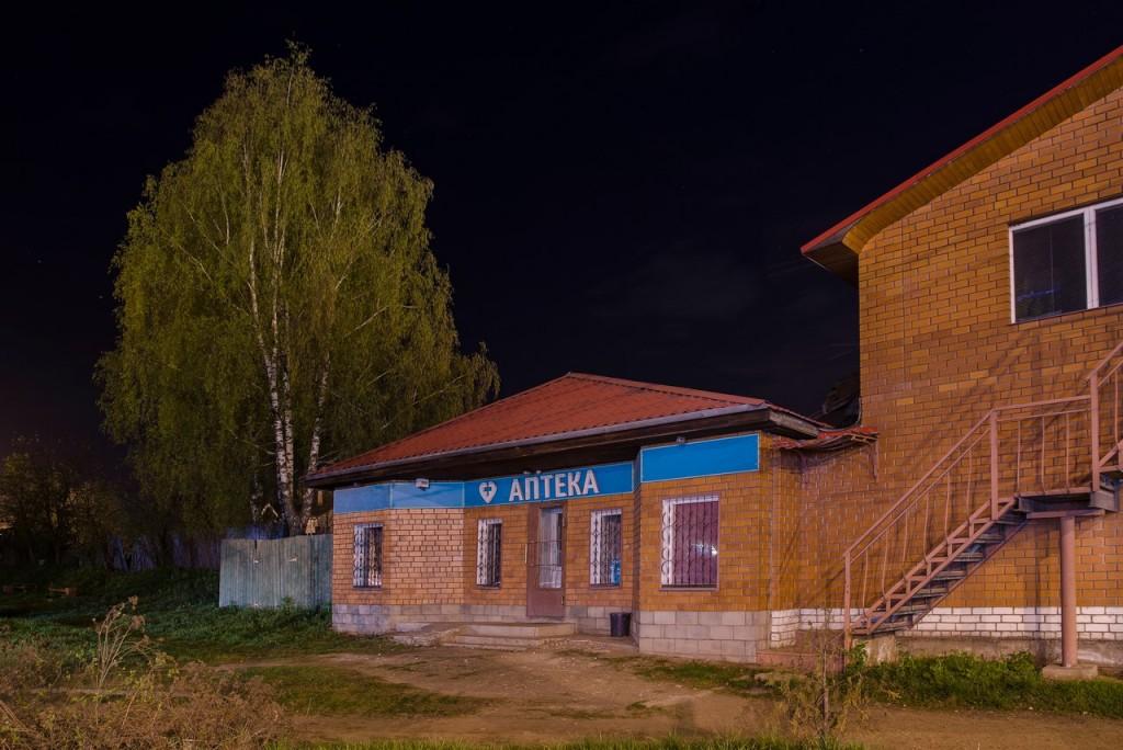 Немножко ночного, тихого, провинциального городка Покров 07