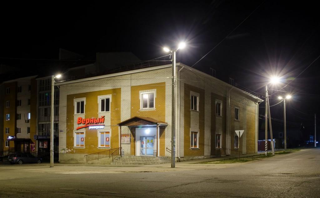 Немножко ночного, тихого, провинциального городка Покров 09