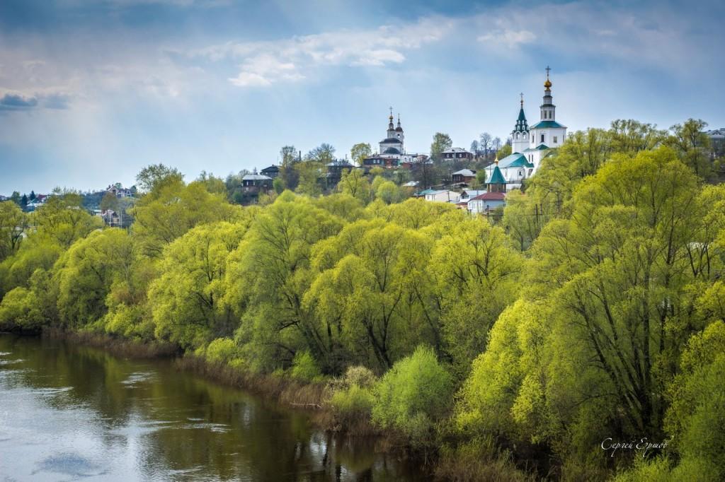 Николо-Галейская церковь на берегу Клязьмы. Владимир