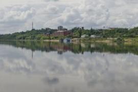 Панорамы Мурома с Оки