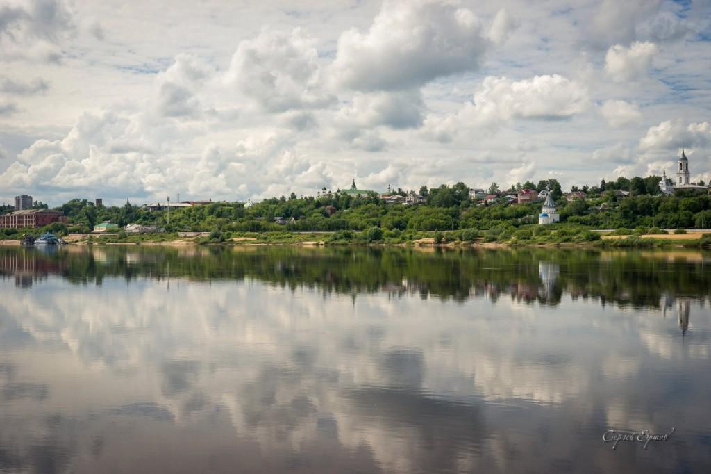 Панорамы утреннего Мурома и Оки 04