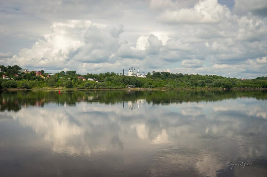 Панорамы утреннего Мурома и Оки 06