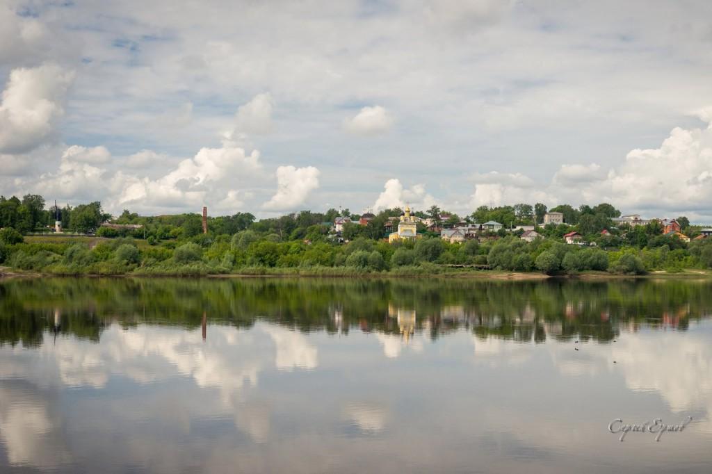 Панорамы утреннего Мурома и Оки 07