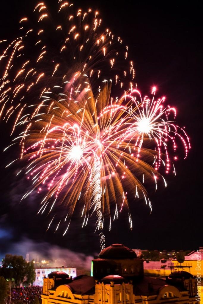 Праздничный салют ко Дню Победы в Муроме 09