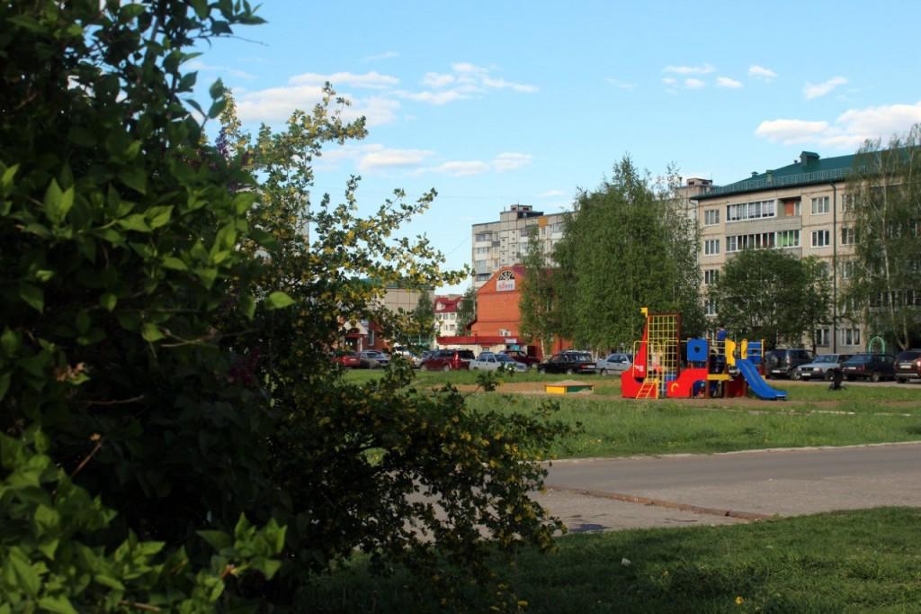 Радужный - город, укутанный в листву 07