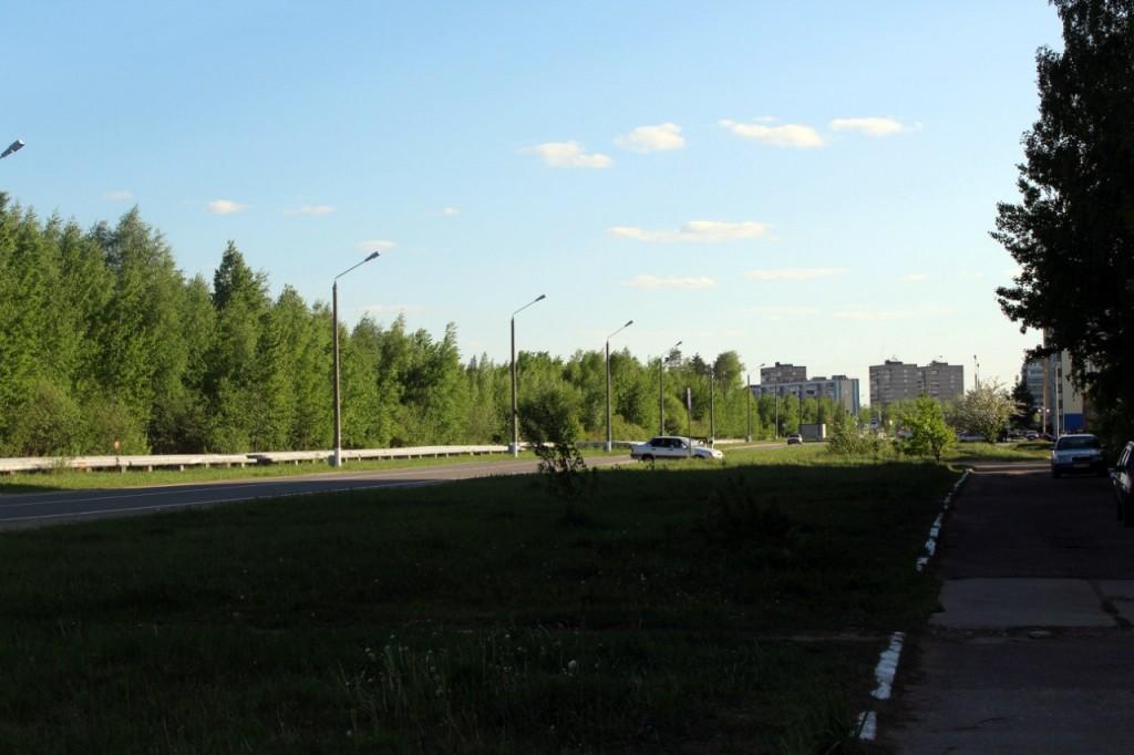 Радужный - город, укутанный в листву 09