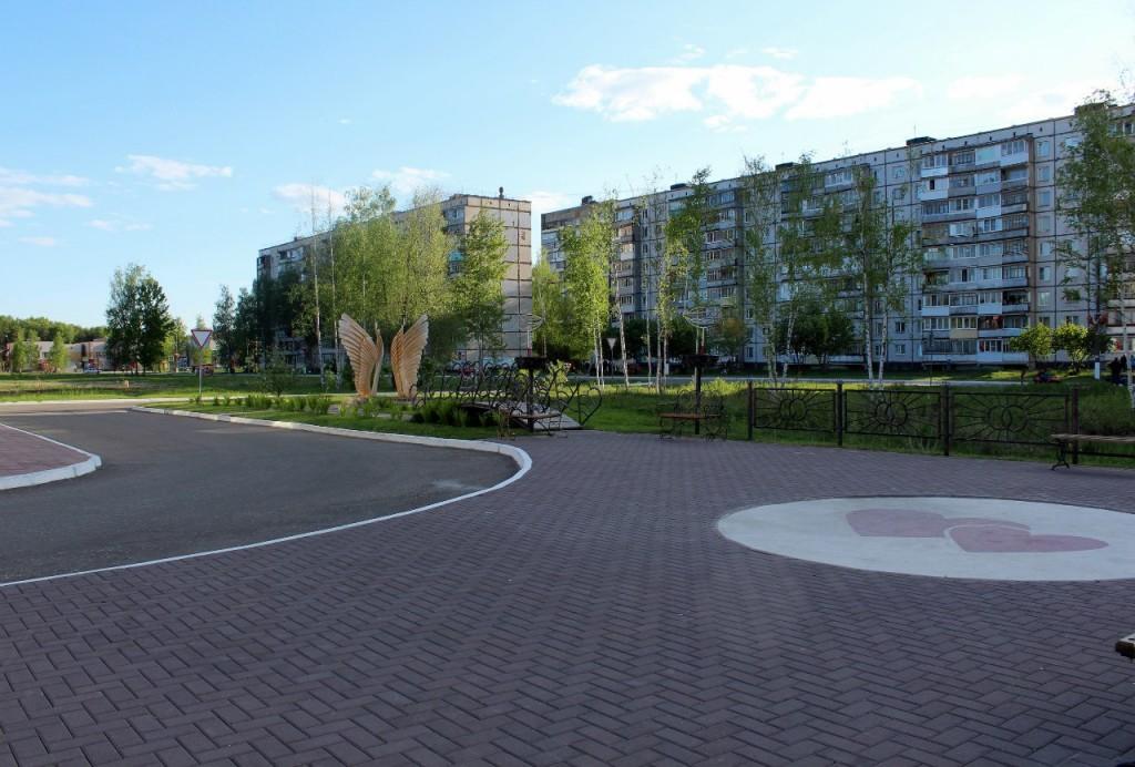 Радужный - город, укутанный в листву 14