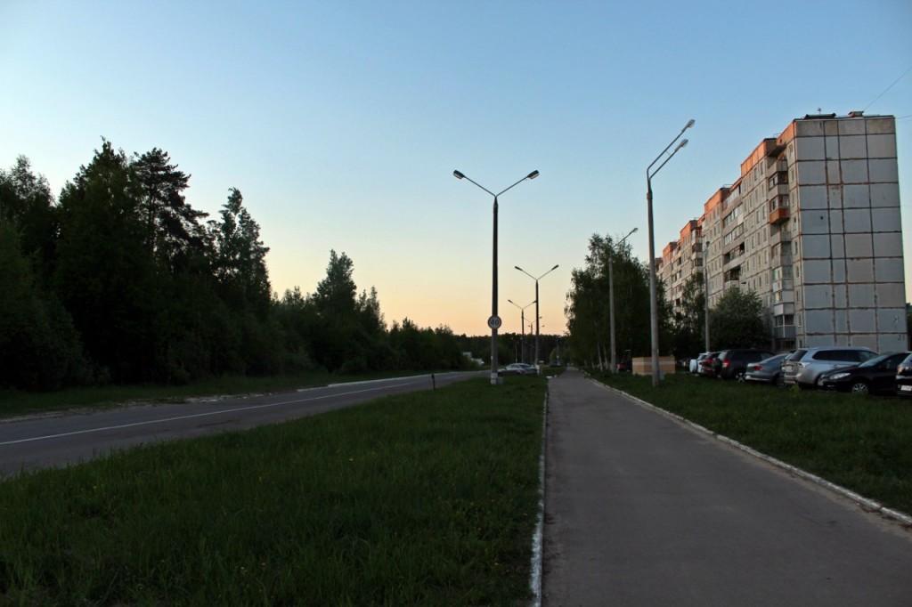 Радужный - город, укутанный в листву 18