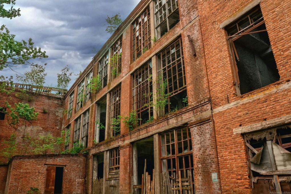 Разрушенная фабрика в г.Вязники, р-он. Ярцево 02