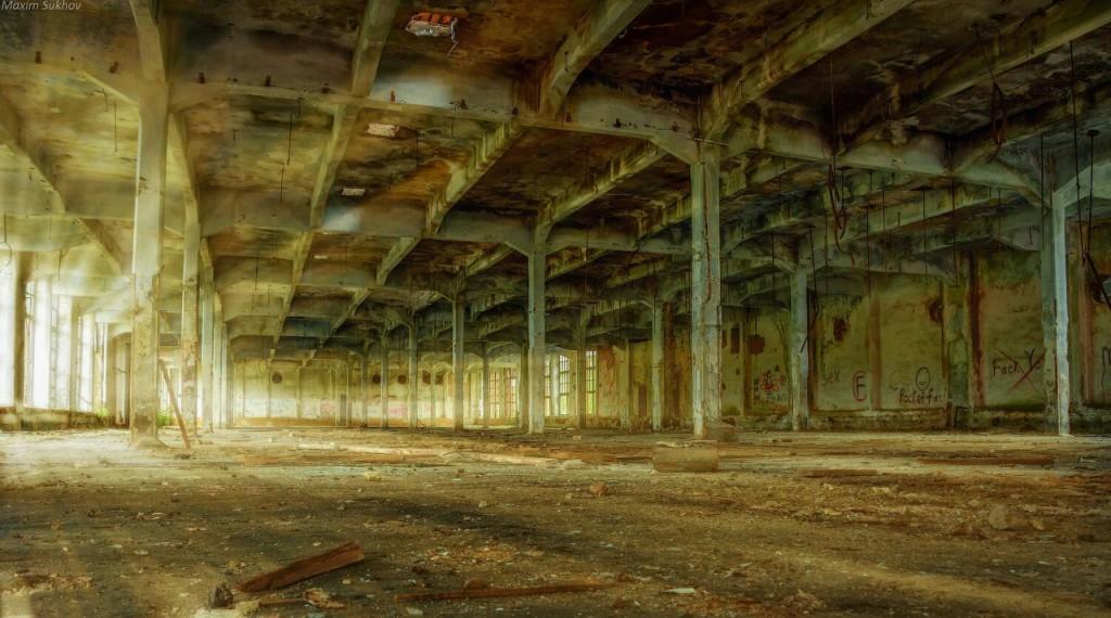 Разрушенная фабрика в г.Вязники, р-он. Ярцево 03