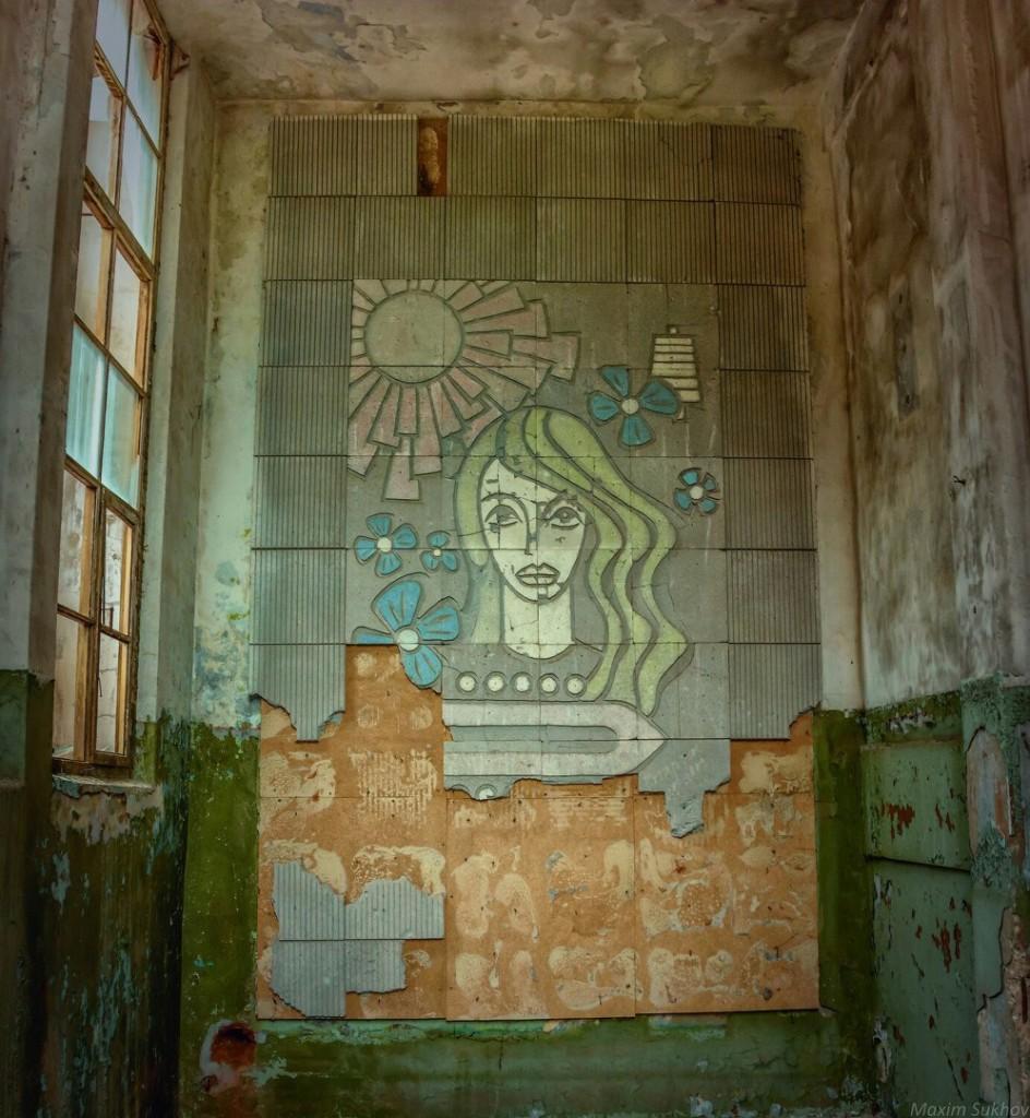 Разрушенная фабрика в г.Вязники, р-он. Ярцево 05
