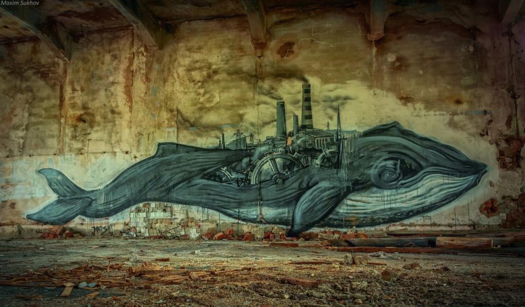 Разрушенная фабрика в г.Вязники, р-он. Ярцево 07