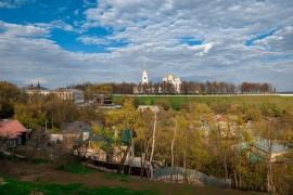 Реконструкция Патриарших садов во Владимире (май 2016)