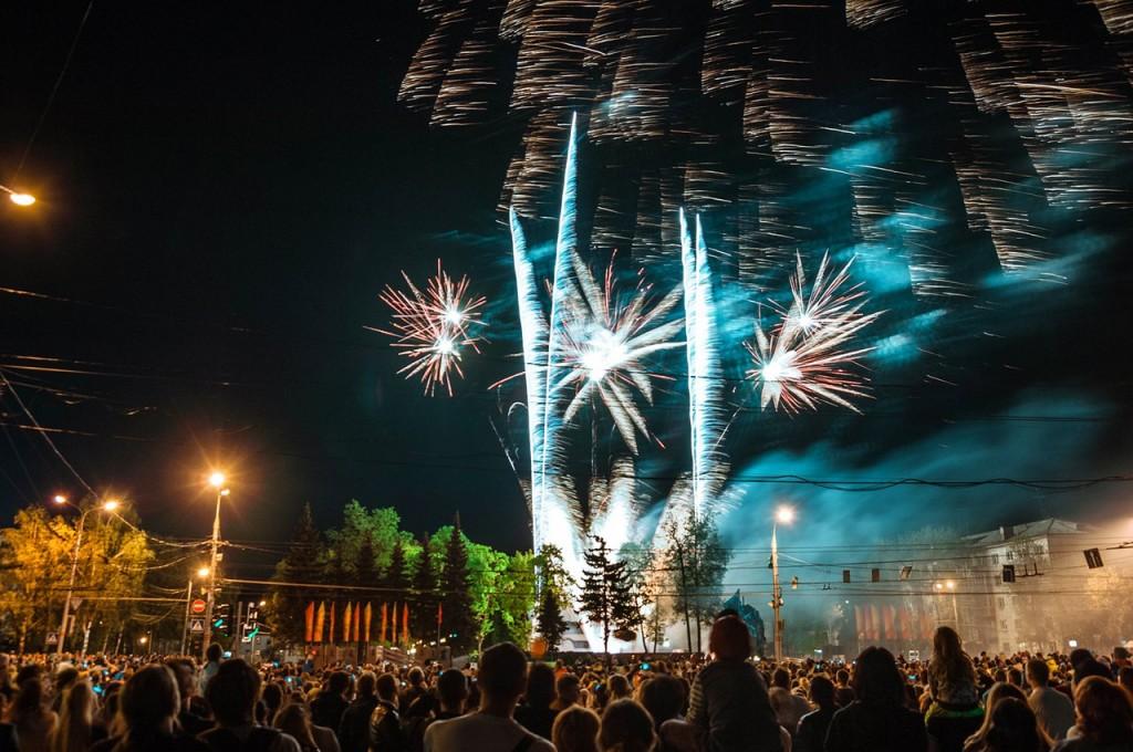 Салют на 9 мая во Владимире 13