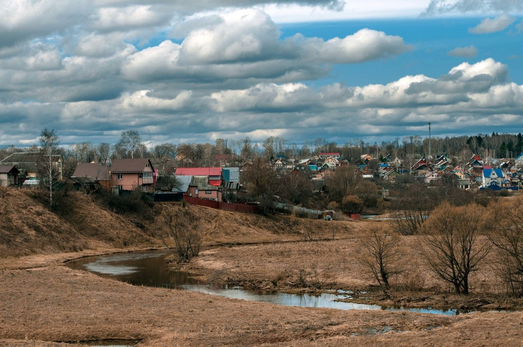 г. Александров весной 02