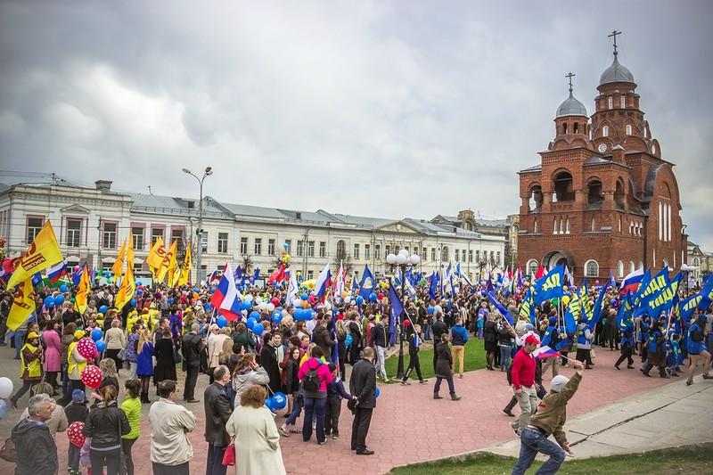 1 мая во Владимире 07