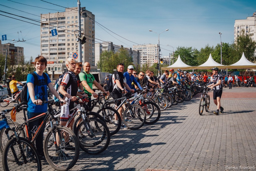 2016.05.08 - Старт велопробега к 71-й годовщине Победы 01
