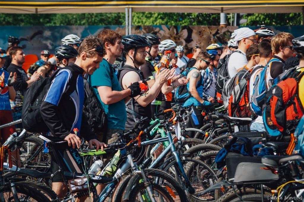 2016.05.08 - Старт велопробега к 71-й годовщине Победы 05