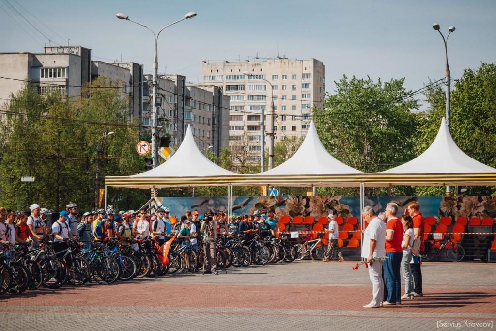 2016.05.08 - Старт велопробега к 71-й годовщине Победы 07