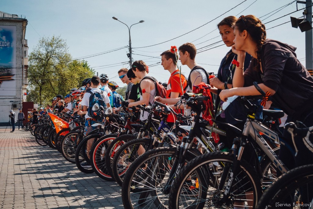 2016.05.08 - Старт велопробега к 71-й годовщине Победы 10